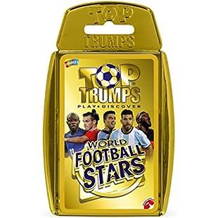 Customer reviews World Football Stars Top Trumps Card Game - Gold Case