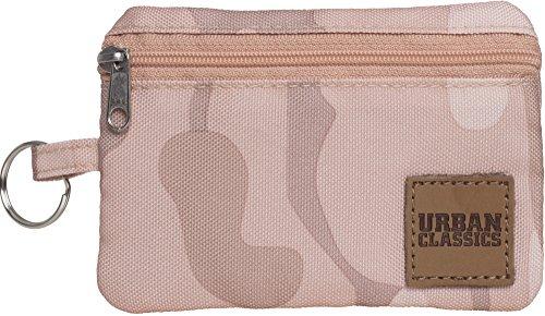 Urban Classics Mini Wallet With Keyring Münzbörse, 12 cm, Rose Camo