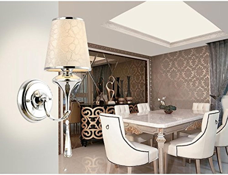 Einfache und moderne Wandleuchte Crystal Wand Lampe Wandleuchte für Schlafzimmer,Bar,Hotel,Wohnzimmer und Küche,250  345 mm