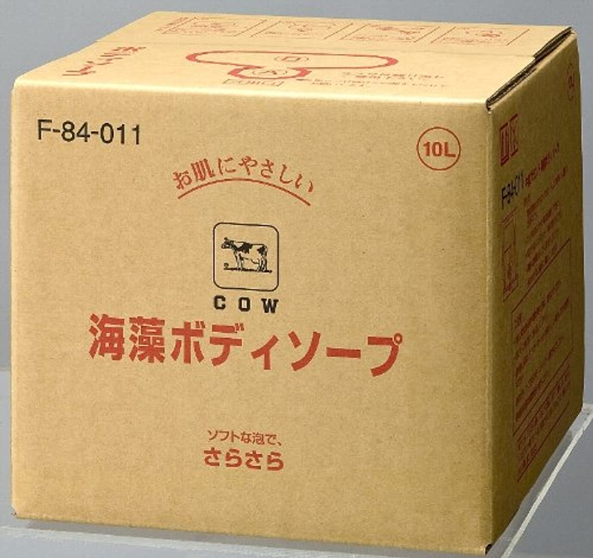 勤勉貧困船【業務用】カウブランド海藻ボディソープ 10L