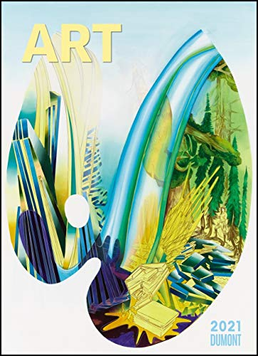 Art Kalender 2021 – Malerei heute – DUMONT Kunst-Kalender – Poster-Format 49,5 x 68,5 cm