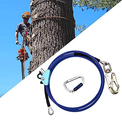 PaNt Núcleo De Alambre De Acero Flip Line Kit Arnés anticaídas Escalada Cuerda De Posicionamiento para Arboristas Trepadores De Árboles, trabajos en el tejado (Size : 12mm*3M)
