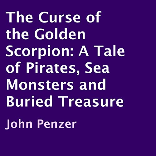 The Curse of the Golden Scorpion audiobook cover art
