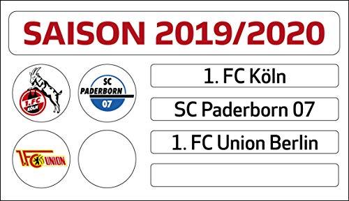 DFL Liga 1. Bundesliga - Juego de actualización de Tabla magnética (Temporada 2019-2020)