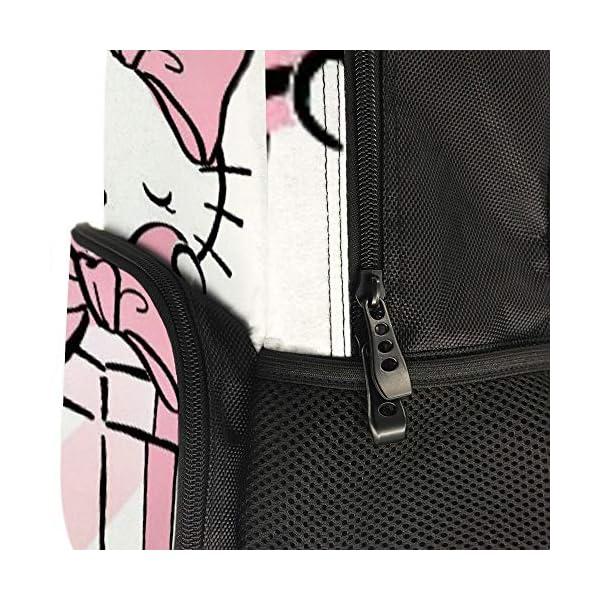51gWb1peKjL. SS600  - Hello Kitty mochila de regalo escolar bolsa de viaje de negocios mochila para hombres mujeres adolescentes escuela universidad 16 pulgadas
