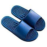 XWZJY Zapatillas de Masaje de acupresión Zapatos Sandalias Estera para Hombres, Alivio Fascitis Plantar Articulación del Arco del talón Neuropatía Dolor Suela Antideslizante, 3 tamaños