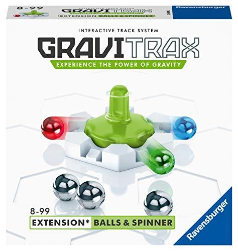 Ravensburger 26979 2 GraviTrax Balls & Spinner, Accessorio, Gioco STEM, Gioco Logico-Creativo, Età Raccomandata 8+