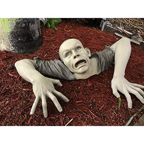 The Zombie of Montclaire Moors Statue Garden Resin Sculpture Outdoor Decoration