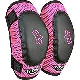 Fox Racing PeeWee Titan Youth Elbow Guard MotoX Motorcycle Body Armor - Black/Pink / Small/Medium