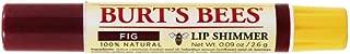 Burt's Bees Lip Shimmer, Fig 0.09 oz (Pack Of 5)