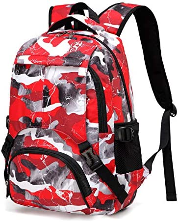 BLUEFAIRY Kids Backpacks for Boys Girls Camouflage Elementary School Bags Bookbags Lightweight product image