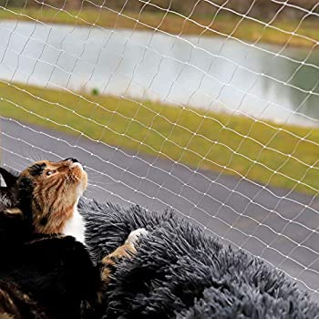 lionto by dibea Filet pour chat filet de protection pour balcon taille (S) 3x4 m
