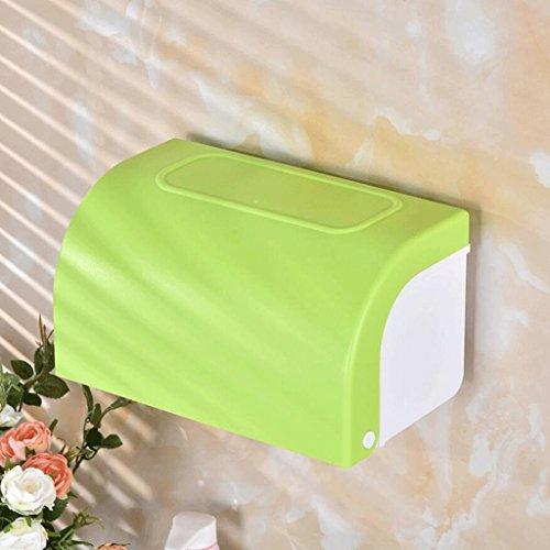 Cosmeticatoekenbox cosmeticatoekenbox badkamer toiletpapier houder handdoekhouder kunststof waterdicht Groen