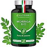 Moringa Biologica | Moringa Oleifera 120 Capsule 400mg | Vitamine Antiossidanti Proteine | Fonte di...