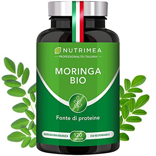 Moringa Biologica | Moringa Oleifera 120 Capsule 400mg...