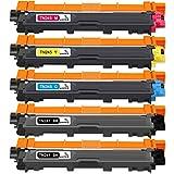 ONINO TN241 TN245 Cartucho de Tóner Compatible para Brother HL-3140CW HL-3150CDW HL-3170CDW DCP-9015CDW DCP-9020CDW MFC-9330CDW MFC-9130CW MFC-9340CDW MFC-9130CDN MFC-9140CDN