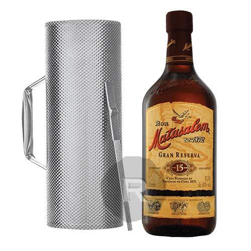 Ron Matusalem Guira Schrapinstrument Geschenkpackung Granreserva 15 Rum (1 x 0.7 l)