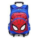 Spiderman Six wheels Trolley case School Bags Boy Oxford cloth Vacation backpackSpiderman Six Wheels Trolley Case School Bags Boy Oxford Cloth Vacation Backpack