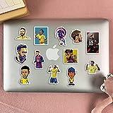 YZFCL Neymar Sticker Football Star Barcelona Mobile Phone Computer Suitcase Suitcase Sticker Waterproof