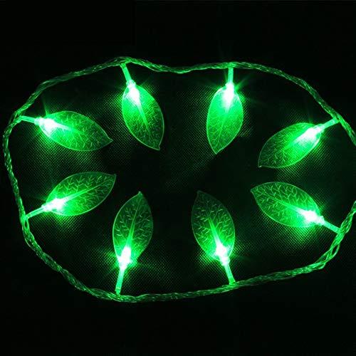 Led String licht bladeren plug-in aangedreven waterdichte 100 LED-lampen voor slaapkamer/hal/terras/tuin/binnenruimte/fotolijst meisjes slaapkamer, party, bruiloft, kerstmis