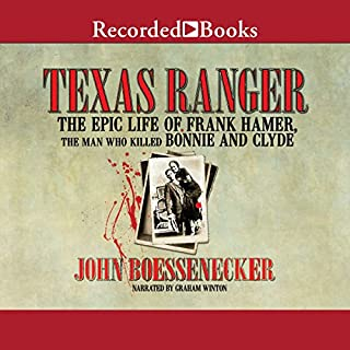 Texas Ranger audiobook cover art