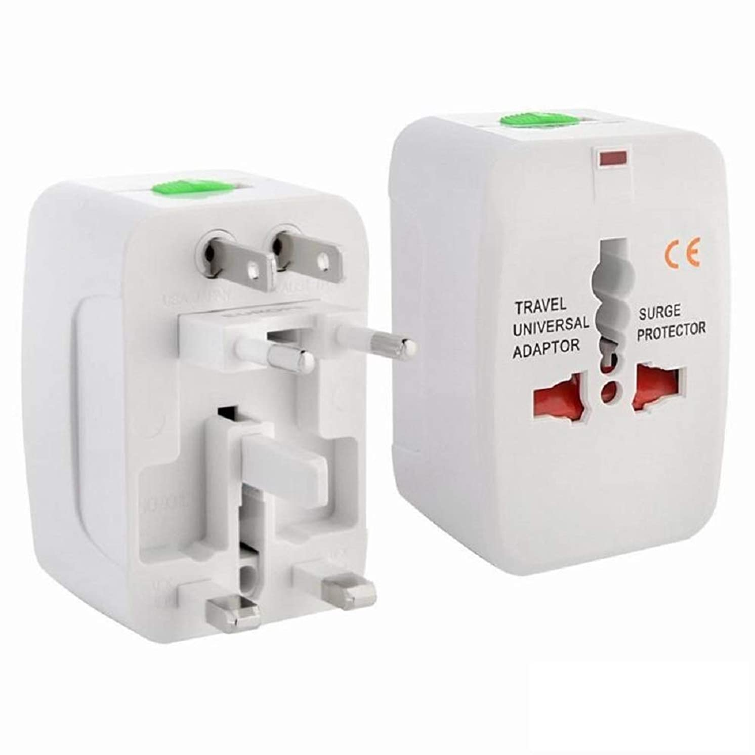 Universal International Travel Power Adapter,Worldwide All in One Wall Charger International Travel Plug for USA to Hong Kong British England Scotland
