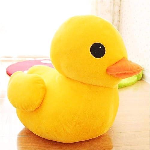 DIEIGEIHAO Rhabarber Ente Plüschtier Entlein Puppe Kind Spielzeug Kissen mädchen Geburtstag Geschenk Puppe Geschenk, 95cm
