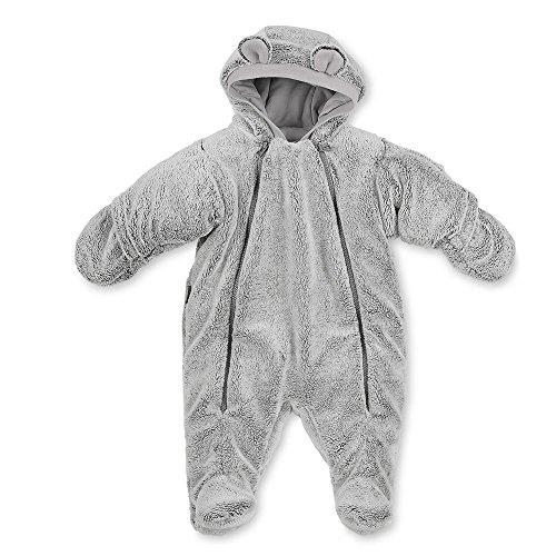 Sterntaler - Baby Jungen Overall mit Mütze, Grau - 5501680, Größe 62