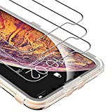 UNBREAKcable Screen Protector for iPhone Xs Max/ 11 Pro Max 6.5' 3-Pack - 9H Premium HD Tempered Glass Screen Protector for iPhone Xs Max/ 11 Pro Max [Bubble-Free, Easy Alignment Tool, Anti-Scratch]