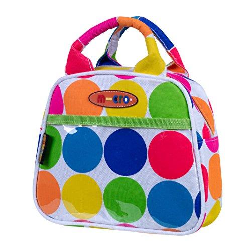 MicroMICRO MOBILTY Handtasche, Neongepunktet