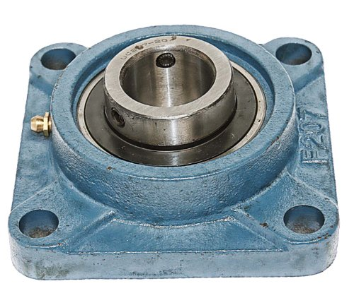1 1/4 Bearing UCF207-20 + Square Flanged Cast Housing Mounted