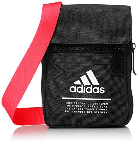 adidas CL ORG S, Organizador para Bolso Hombres, Negro/ROSSEN (Multicolor), Única