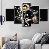 lglays HD 5 Stücke Paris Saint-Germain Fußballspieler