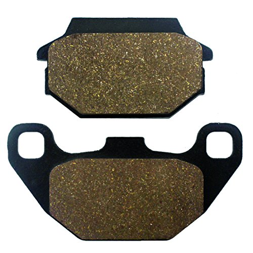 Caltric Rear Brake Pads Compatible With Kymco Mxer 90 Mongoose 2005-2011