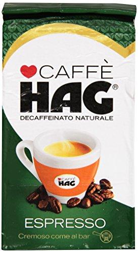 Hag - Caffè, Decaffeinato Naturale, Espresso - 250 g