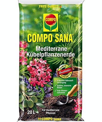 Compo SANA Mediterrane Kübelpflanzenerde (20 L)
