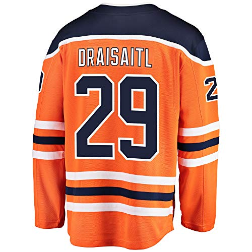 Leon Draisaitl Edmonton Oilers Youth Home Premier Jersey (Small/Medium 8-12) Orange