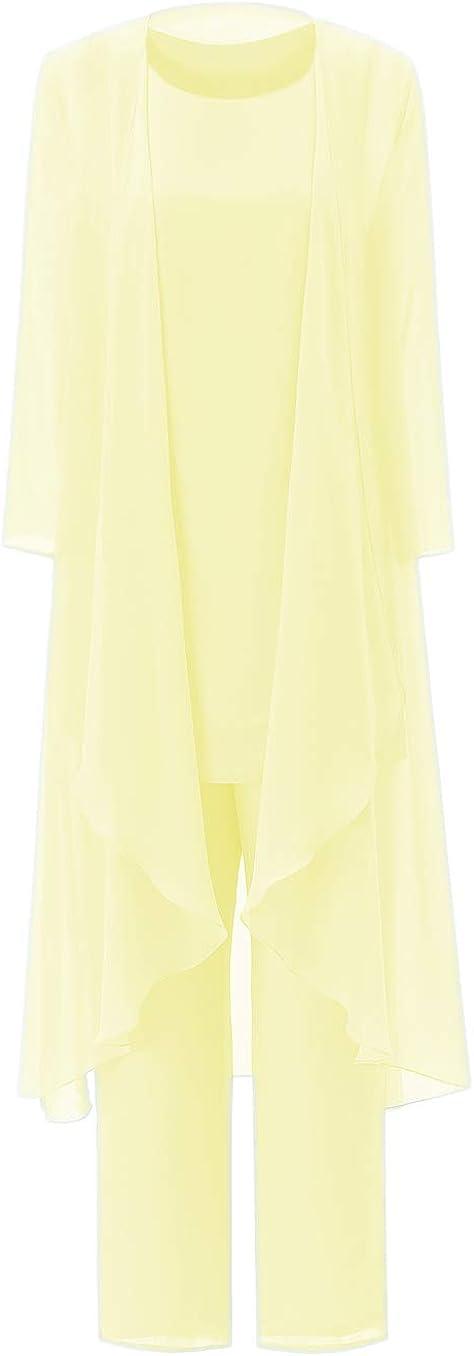 Vincent Bridal Mother of The Bride Pants Suits for Wedding Plus Size 3 Pieces Elegant Jumpsuit with Jacket