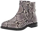 Hush Puppies Women's Bailey Strap Boot, Natural Snake Leather, 7.5 M US