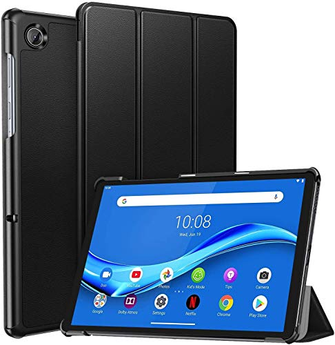 "Ztotop Case for Lenovo Tab M10 Plus, Ultra Slim Lightweight Trifold Stand Cover with Auto Sleep/Wake for Lenovo Tab M10 Plus 10.3"" FHD Android Tablet TB-X606F / TB-X606X, Black"