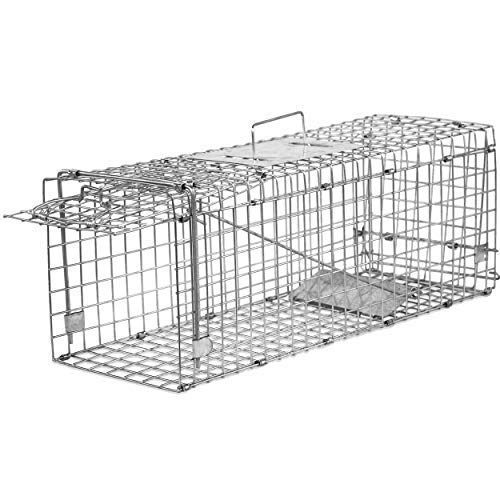 Elbe Jaula de Captura, Trampa para roedores, múltiple,80x32x29 cm_MAF03