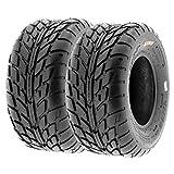 SunF 18x9.5-8 18x9.5x8 ATV UTV Tires 6 PR Tubeless A021 [Set of 2]