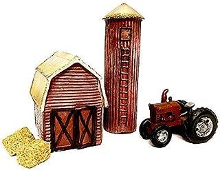 fairy garden barn and silo