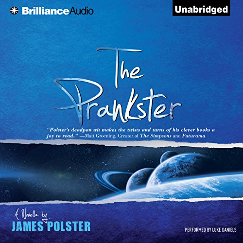 The Prankster audiobook cover art