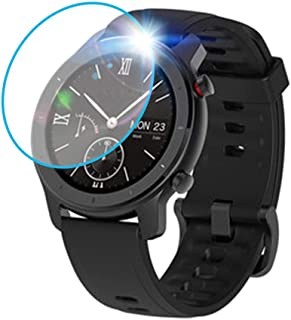 3PCS Clear Film Tempered Glass Screen Protector for AMAZFIT GTR Smart Watch 42mm