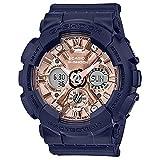 G-Shock by Casio Women's S Series GMAS120MF-2A2 Watch Black