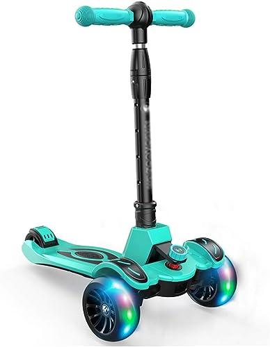 Garantía 100% de ajuste WHTBOX Pedal Pedal Pedal Scooter para Niños, Antideslizante Plegable con,Ajustable T Bar,PU LED Grande Intermitente,3-12 años de Edad,D  precios bajos todos los dias