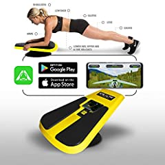 "STEALTH PLANKSTER IS THE NEW PORTABLE AND COMPACT HEALTH CLUB QUALITY FITNESS PRODUCT that will push you to a new level of core training in the privacy of your own home. THE STEALTH BODY FITNESS APP IS FREE and includes 2 games ""Stealth Speed Gliding..."