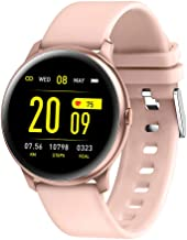 RUNDOING Smart Watch for Android Phones, 1.3 Inch Color Screen Fitness Tracker Activity Tracker, Heart Rate Monitor Fitness Watch,Compatible with iOS and Android