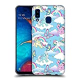 Head Case Designs Officially Licensed My Little Pony Classic Rainbow Unicorns Off My Cloud Soft Gel Case Compatible with Samsung Galaxy A20 / A30 2019